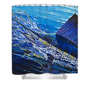 Sail On The Reef Off0082 Shower Curtain by Carey Chen