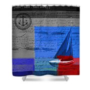 Sail Sail Sail Away - J179176137-01 Shower Curtain by Variance Collections