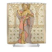 Saint Thomas Shower Curtain by English School