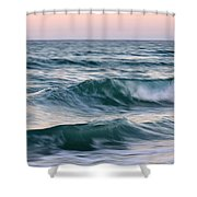 Saltwater Soul Shower Curtain by Laura Fasulo