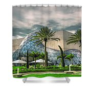 Salvador Dali Museum Shower Curtain by Mal Bray