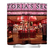 San Francisco Victoria's Secret Store - 5D20652 Shower Curtain by Wingsdomain Art and Photography