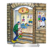 San Gimignano Shower Curtain by Pamela Allegretto