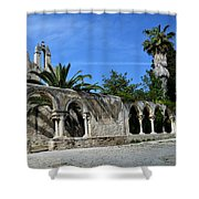 San Giovanni Alle Catacombe In Siracusa Shower Curtain by RicardMN Photography