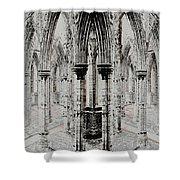 Sanctuary Shower Curtain by Stephanie Grant
