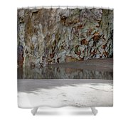 Sandstone Cave V2 Shower Curtain by Douglas Barnard
