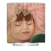 Sassy in Tulle Shower Curtain by Marna Edwards Flavell
