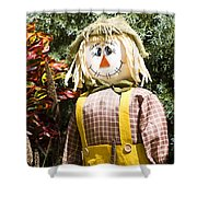 Scare Crow Shower Curtain by Carolyn Marshall