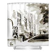 School Days At Ursuline II Shower Curtain by Kip DeVore