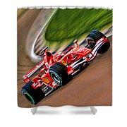 Schumacher Bend Shower Curtain by Blake Richards