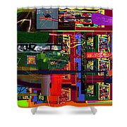Search For The Straying Son 14d Shower Curtain by David Baruch Wolk