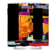 Search For The Straying Son 7 Shower Curtain by David Baruch Wolk