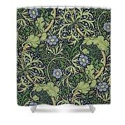 Seaweed Wallpaper Design Shower Curtain by William Morris