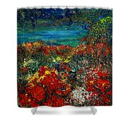 Secret Garden Shower Curtain by Teresa Wegrzyn