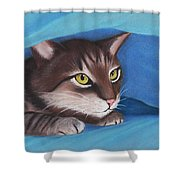 Secret Hideout Shower Curtain by Anastasiya Malakhova