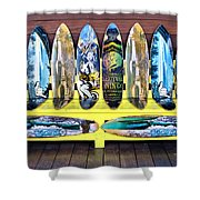 Sector Nine Skateboards Shower Curtain by Cheryl Young