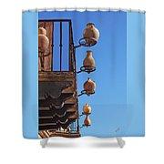 Sedona Jugs Shower Curtain by Ben and Raisa Gertsberg