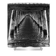 See Forever From Here Shower Curtain by Heather Applegate