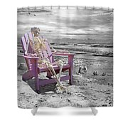 Selective Shower Curtain by Betsy C  Knapp