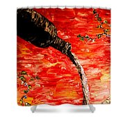 Sensual Fruit Shower Curtain by Mark Moore