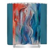 Sensuelle Shower Curtain by Elise Palmigiani