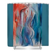 Sensuelle Shower Curtain by Elise Palmigiani
