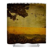 September Shower Curtain by Lois Bryan