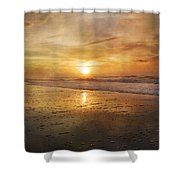 Serene Outlook  Shower Curtain by Betsy C  Knapp