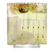 Serenity Shower Curtain by Margie Hurwich