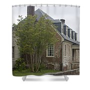 Sessions House Yorktown Shower Curtain by Teresa Mucha