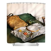 Sewing - Needle Point Shower Curtain by Mike Savad