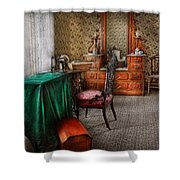 Sewing - Sewing Can Be Rewarding Shower Curtain by Mike Savad
