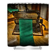 Sewing - The Victorian Seamstress  Shower Curtain by Paul Ward
