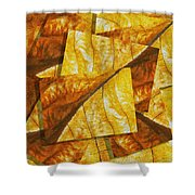 Shades Of Autumn Shower Curtain by Jack Zulli