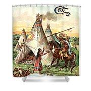 Sheboygan Boots Shower Curtain by Gary Grayson
