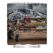 Shiny Mitchell Shower Curtain by Gareth Burge Photography