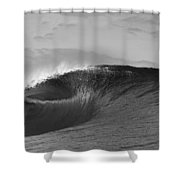 Shiny Tunnel Shower Curtain by Sean Davey