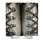 Shoes Shower Curtain by Frank Tschakert