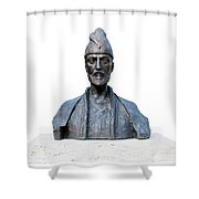 Shota Rustaveli Shower Curtain by Fabrizio Troiani