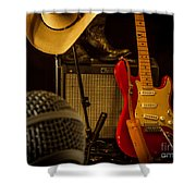Show's Over Shower Curtain by Robert Frederick