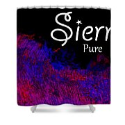 Sierra - Pure Shower Curtain by Christopher Gaston