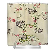 Silk Design Shower Curtain by Anna Maria Garthwaite