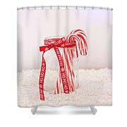 Simple Pleasures Shower Curtain by Kim Hojnacki