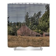 Simpler Times Shower Curtain by Randy Hall