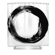 Simplicity Shower Curtain by Linda Woods