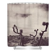 Skies May Fall Shower Curtain by Laurie Search