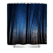 Sleepwalking... Shower Curtain by Nina Stavlund
