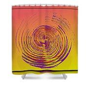 Slip In Time Shower Curtain by Tim Allen