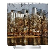 Small Co-op 2 Shower Curtain by Todd and candice Dailey