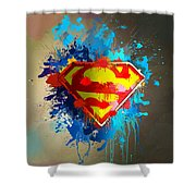 Smallville Shower Curtain by Anthony Mwangi
